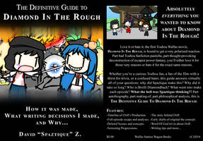 The Definite Guide To DitR: Book Cover by Spaztique