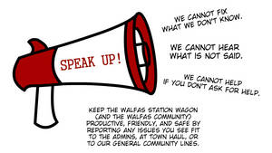 SPEAK UP! - A WSW Awareness Campaign by Spaztique