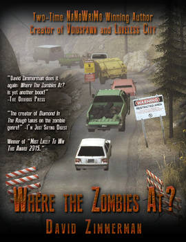 Where The Zombies At? Book Cover