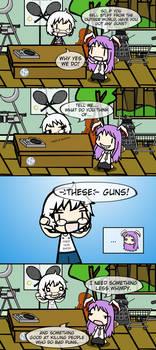 [Touhou] Rinnosuke's Gun Show