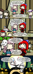 [Touhou] Sekibanki talks theater with Kokoro... by Spaztique