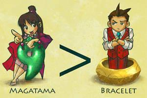 Magatama OWNS Bracelet by wendichen
