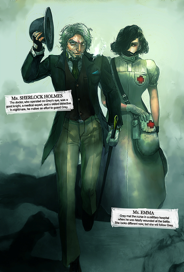 04. Dr. Sherlock and Ms. Emma by ZAQUARD