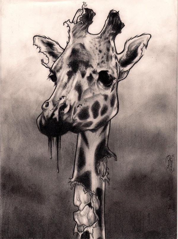 Zombie giraffe
