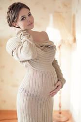 beatiful pregnant  by MrPuzzano