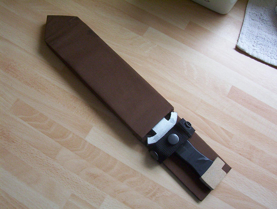 how to make a cosplay knife