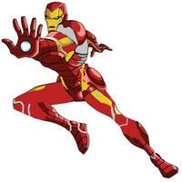 Iron Man infinity war by DIEGOZkay
