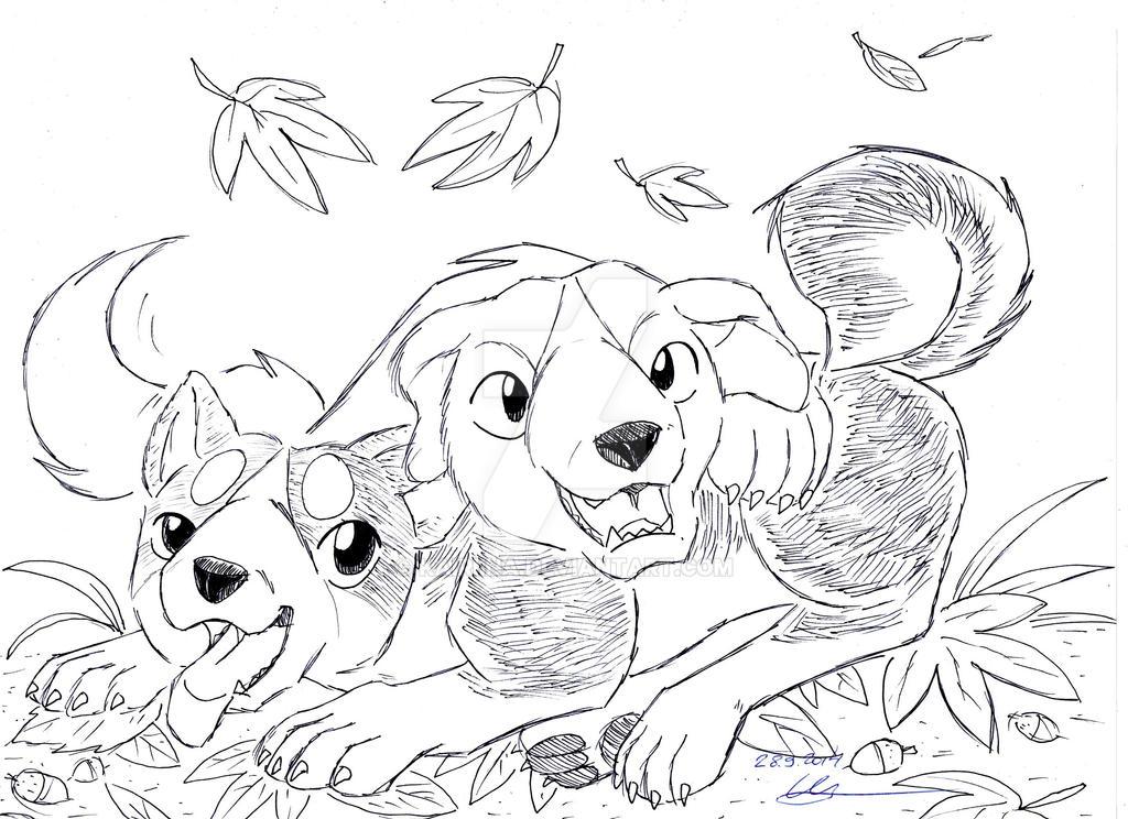 Enjoy the autumn! by Kairiina
