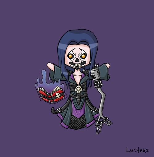 Pentakill Death Vocalist by LuctekzKarthus Pentakill Comic