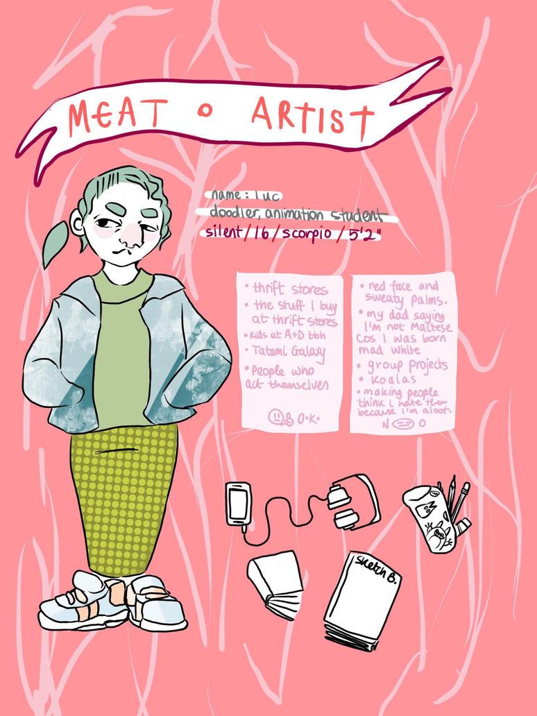 Meet-The-Artist! by zaftwiggy