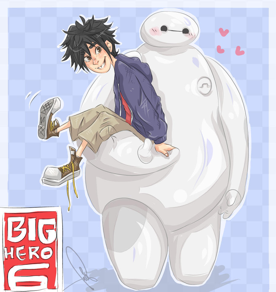 i'll try to picture me without you but i can't. ( baymax ) ♡ Big_hero_6_by_jell1patty-d8dn7co