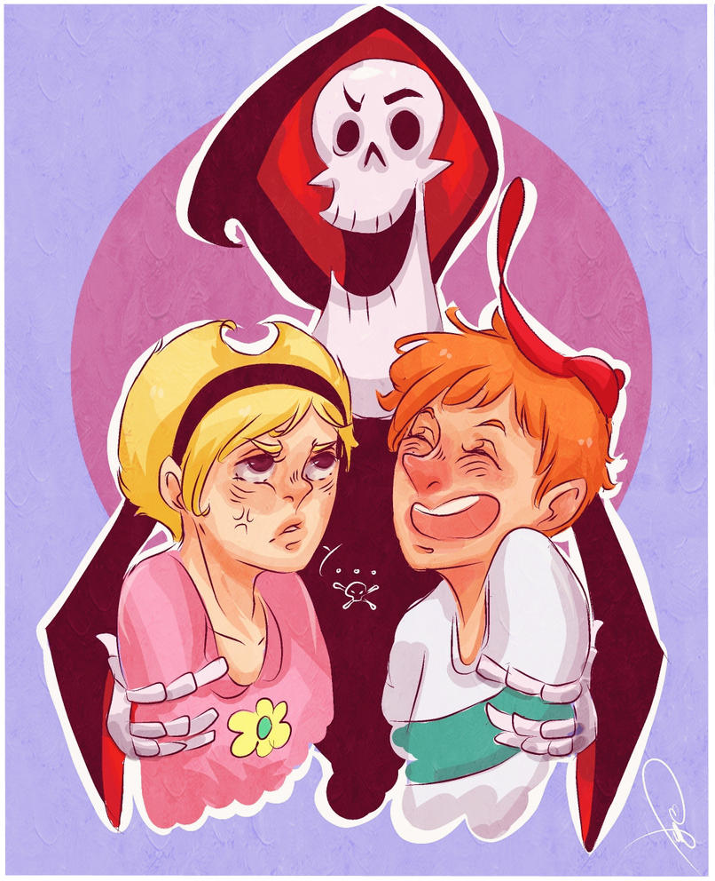 The Grim Adventures Of Billy N Mandy By Jell1Patty On