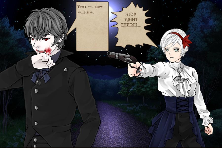 My own Manga: Vampire Hunting by ShyuaChen