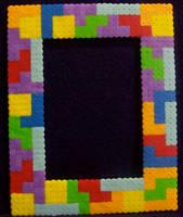 Tetris Perler Frame by yumeleona23