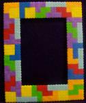 Tetris Perler Frame