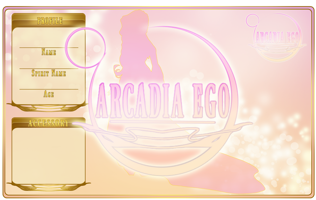 Arcadia Ego - Applications by llawll