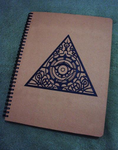 All Seeing Eye Notebook By Lordofdark13