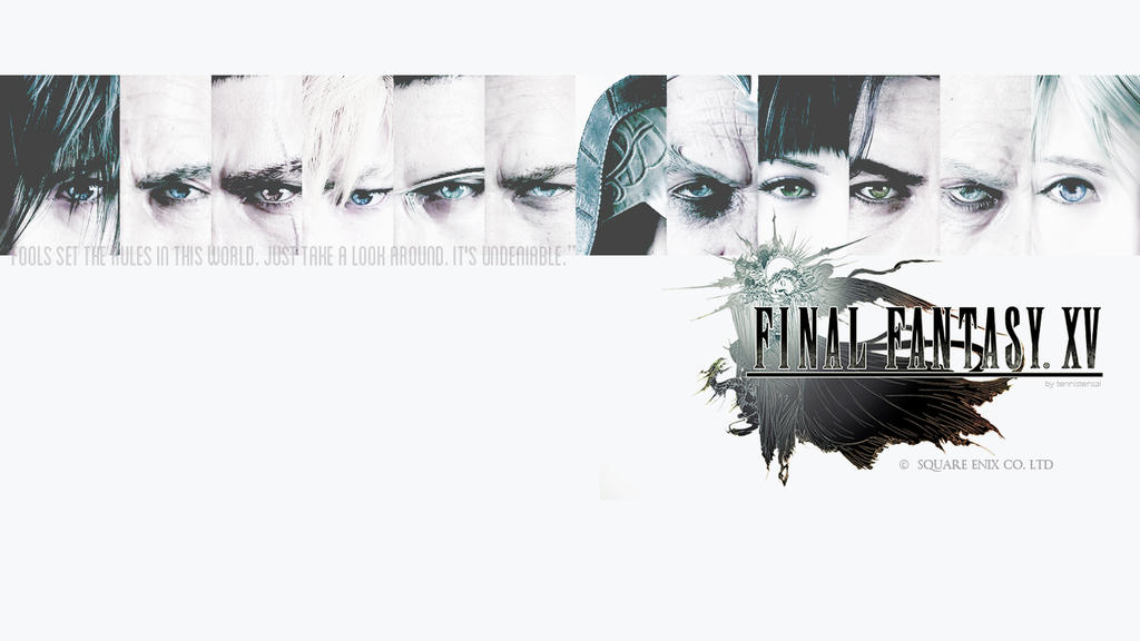 Final Fantasy XV Undeniable Wallpaper By Tennistensai