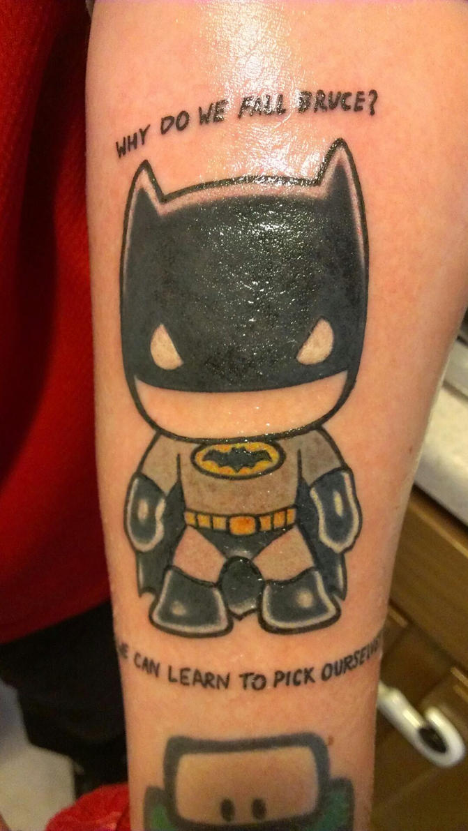Batman Tattoo by DHouse1985