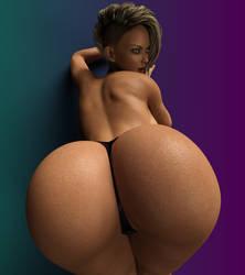 Big Booty Babe by cjflo