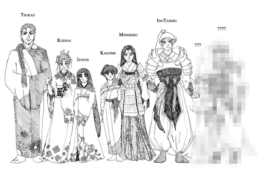 Before There Were Fairy Tales... Character Chart by FaeHime