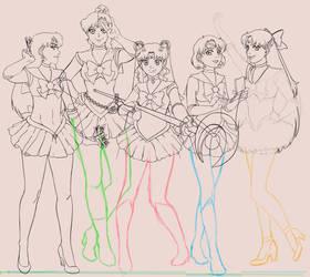 Sailor Moon WIP Part II