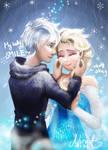 [Jelsa] Elsa Jack Frost