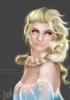 Frozen Elsa by NaNinna