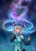 Miku: She has a Starry hair!