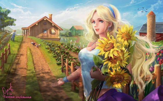 Haley from Stardew Valley