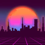 Vaporwave City