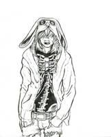 Un lapin by ellianounoursblanc