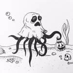 Inktober Day 4: Underwater