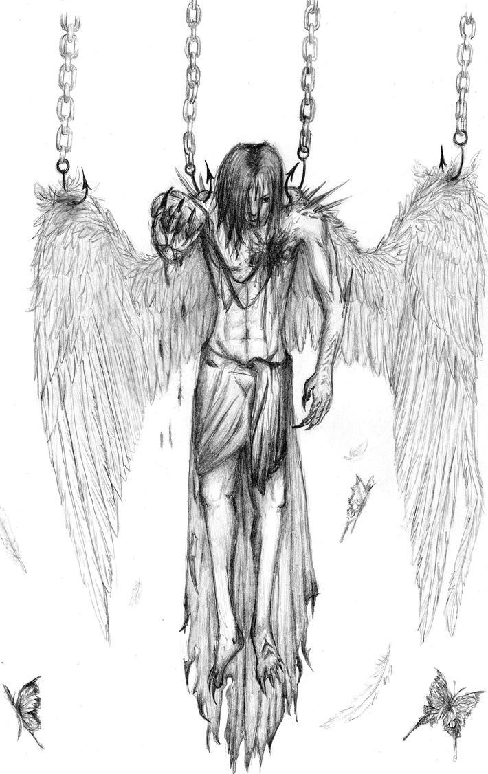 Fallen angel by hakoshin on deviantart fallen angel by hakoshin thecheapjerseys Gallery