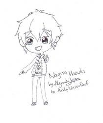 [Chibi] Hazuki Nagisa by aleprettycat