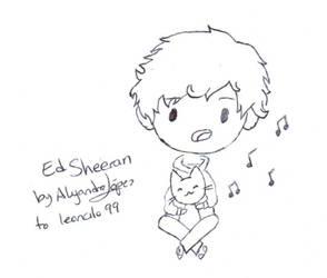 [Chibis] Ed Sheeran by aleprettycat