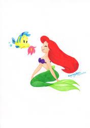 Ariel by aleprettycat