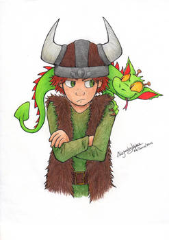 Hiccup and Toothless [Book version]