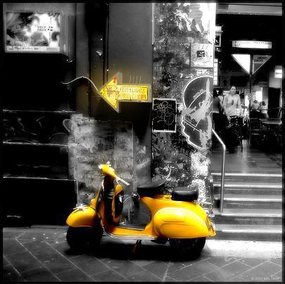 Vespa- My motorbike by Rita09