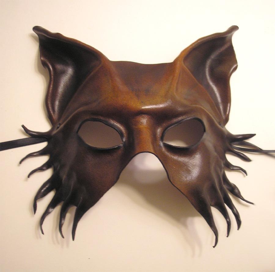 Leather Mask...Wolf...Dog... by teonova