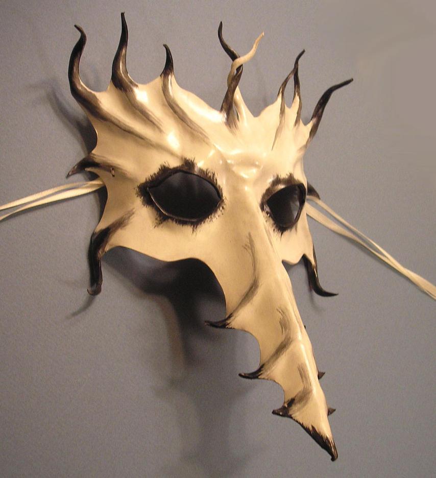 Scaramouche Dragon Mask by teonova