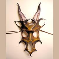 Beast Skull Leather Mask by teonova