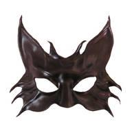 Black Cat Leather Mask 2 by teonova