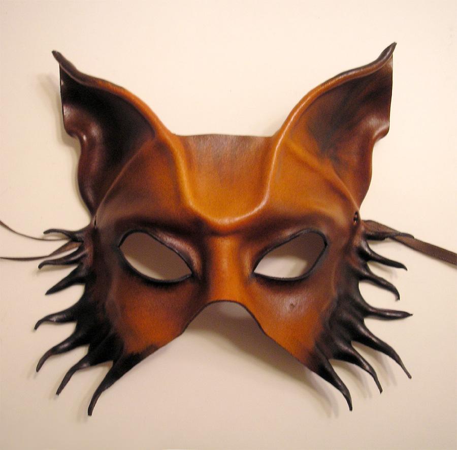 leather mask wolf dog or fox by teonova on deviantart. Black Bedroom Furniture Sets. Home Design Ideas