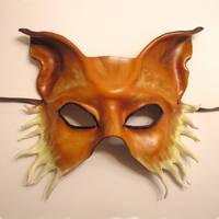 Fox Leather Mask... Half Face by teonova