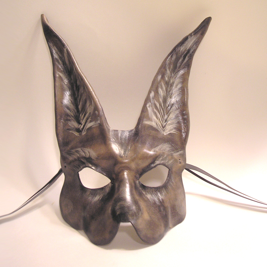 A Little Creepy...Rabbit Mask by teonova