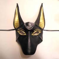 Anubis Leather Mask by teonova