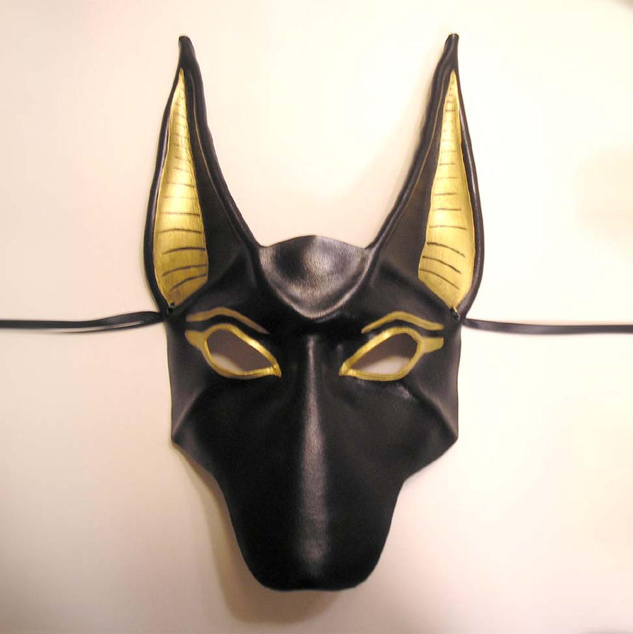 Anubis Leather Mask by teonova