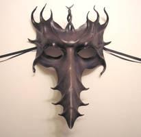 Long Nose Leather Mask, Greys by teonova
