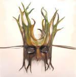 Leather Tree Mask Teonova
